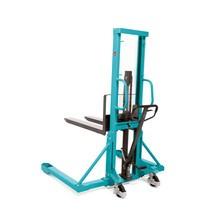 Ručný hydraulický vysokozdvižný vozík Ameise® so širokým rozchodom ramien kolies