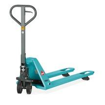 Ručný zdvíhací vozík so zníženým podvozkom Ameise® PTM 1.5 pre špeciálne a ploché palety