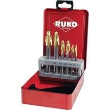 RUKO Flachsenkersatz, HSS-TiN Z3, Metallkassette