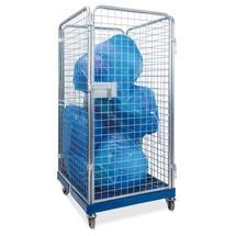 Rullcontainer för avfallshantering