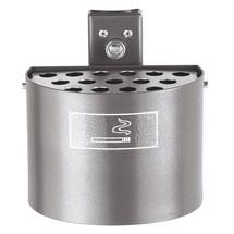 Rundascher, mit Pfosten, ohne Abdeckhaube, 2 Liter, feuerverzinkt + pulverbeschichtet