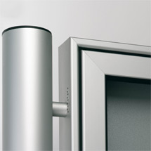 Rundrohr Ständer 80mm für PROFI-Schaukasten, Einbetonieren