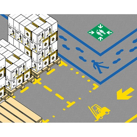 Šablóna nastaviť parkovacie značenie
