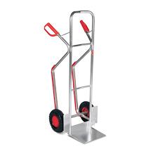 Sackkarre Ameise® mit Gleitkufen, Aluminium, Tragkraft 200kg, Schaufel 32x24cm
