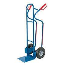 Sackkarre BASIC aus Stahlrohr. Pannensichere Bereifung. Tragkraft 250 kg