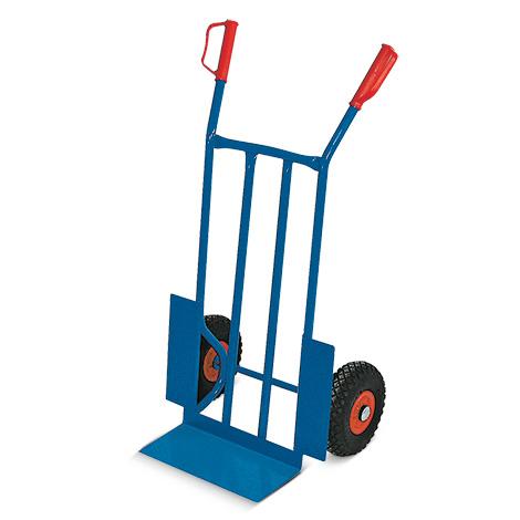 Sackkarre BASIC. Aus Stahlrohr, Tragkraft 250 kg, pannensichere Bereifung