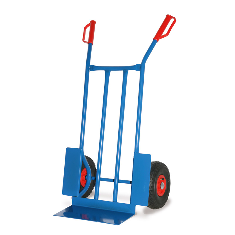 Sackkarre BASIC. Tragkraft 250 kg, Schaufelgröße 40 x 18 cm