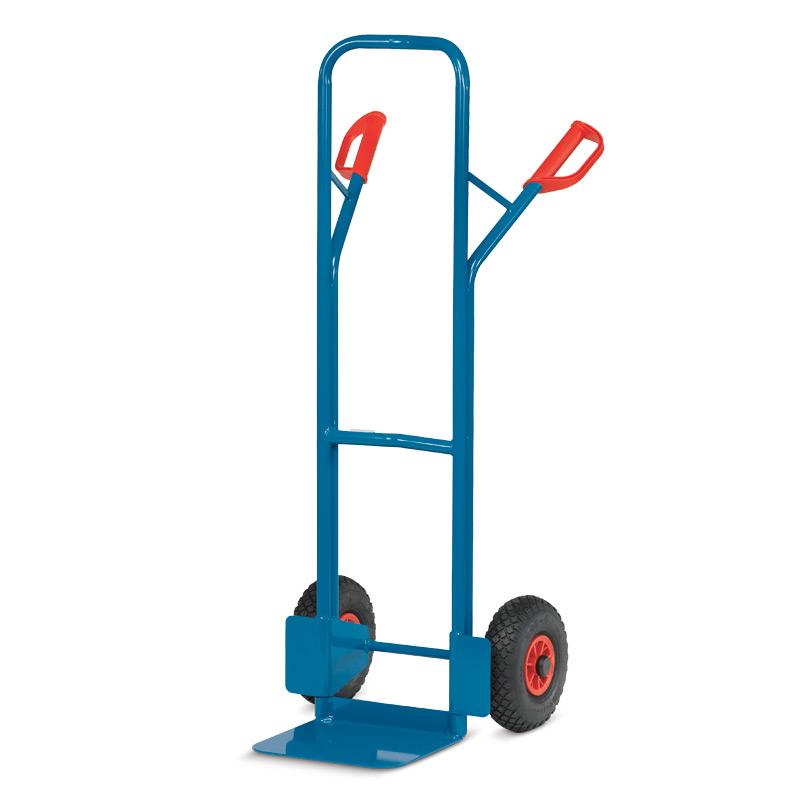 Sackkarre fetra®. Tragkraft 300 kg, Schaufelgröße 480 x 300 mm