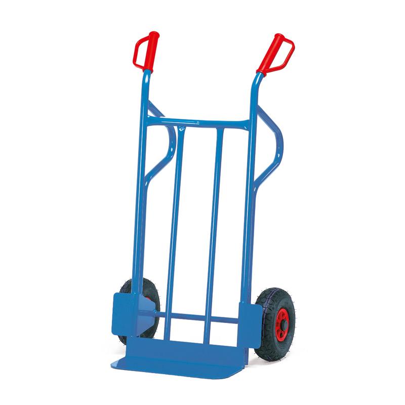 Sackkarre fetra®. Tragkraft 350 kg, Schaufelgröße bis 48 x 30 cm