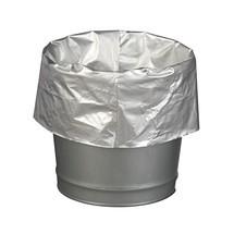 Sacs poubelle pour conteneurs de sécurité, recouverts d'aluminium, 50 pces/UV