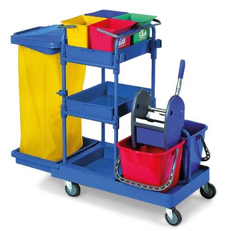 Sada systémového vozíka Harema®, 6 vedierka