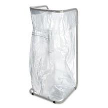 Säckhållare för källsortering 400 liter, av pulverlackerat stål