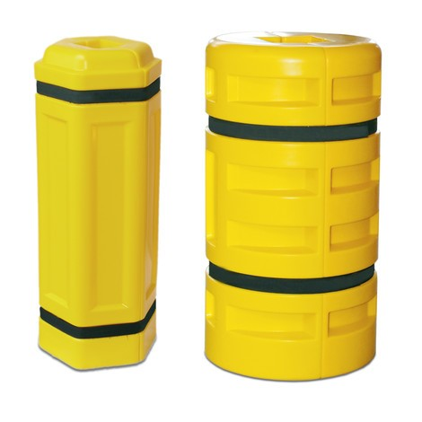 Säulen-Anfahrschutz aus Polyethylen