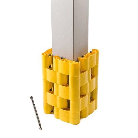Säulen-Schutz STRUKTUR, Säulengröße LxB 200x200mm