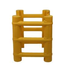 Säulenschutz aus PE, modular