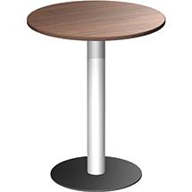Säulentisch mit Tellerfuß, ØxH 900x1100 mm