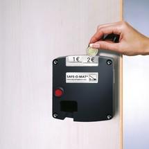 Safe-O-Mat slot voor garderobekast, ventilatiegaten, 300 en 400mm