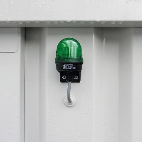 SAFE-tank ECO meerprijs voor milieucontainer met energiezuinige ventilatorsturing
