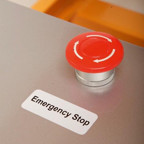 Sakseløftebord med bord Ameise®, elektrisk