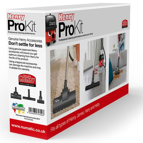 Saugdüsen Numatic® Henry ProKit, 3er-Set