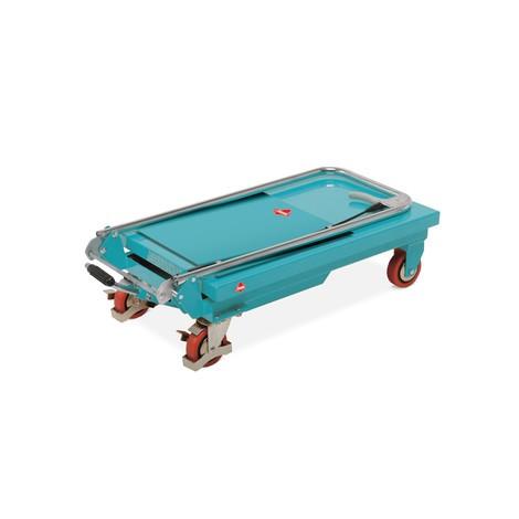 Saxlyftbordsvagn Ameise®, fällbar bygel