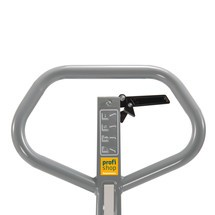 Saxlyftvagn Ameise® – handhydraulisk, lastkapacitet upp till 1500 kg