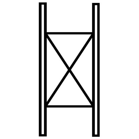 Scaffalatura Cantilever per carichi pesanti META, su doppio lato, portata per braccio fino a 630 kg
