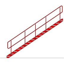 Scala per sistema modulare per soppalchi, altezza fino a 3.400 mm