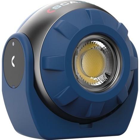 SCANGRIP LED-Akkuhandleuchte Sound LED S