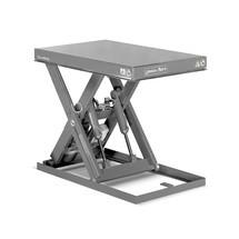 Schaarheftafel Ameise Ergo-Lift 1E, cap. 1000kg, 225x80cm