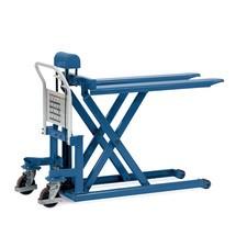 Schaarhefwagen fetra®. Capaciteit tot 1000 kg