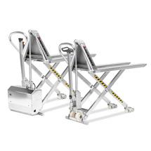 Schaarhefwagen van roestvrij staal (RVS) Jungheinrich® Inox Pro 1500kg.
