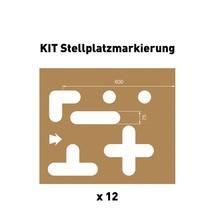 Schablonen-Set Stellplatzmarkierung