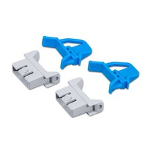 Scharnierverschlüsse, 4-teilig, für Euro-Stapelbehälter