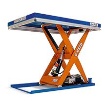 Scheren-Hubtisch Edmolift ® kompakt. Tragkraft bis 2000 kg. Jetzt inklusive CEE-Stecker für die sofortige Inbetriebnahme