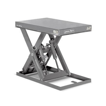 Scheren-Hubtisch ERGO-LIFT 1E, mit Einfach-Schere, Tragkraft bis 2000kg