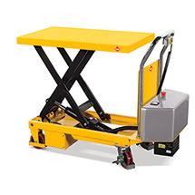 Scheren-Hubtischwagen Ameise® elektrohydraulisch. Tragkraft 500kg.
