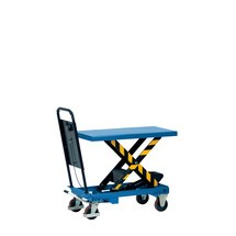 Scheren-Hubtischwagen mit Durchrutschsicherung