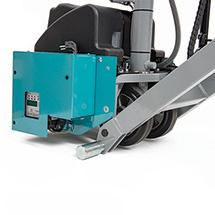 Scheren-Hubwagen EU Ameise® elektrisch - mit Positionskontrolle, Tragkraft 1000 kg, Gabellänge wahlweise 1150 - 2000 mm