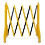 Scherensperre aus HD-Polyethylen, schwarz-gelb