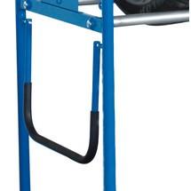 Schiebe- und Ziehbügel für Fahrbares Reifenregal VARIOfit