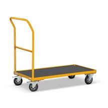 Schiebebügelwagen Ameise®, melonengelb, Tragkraft 500 kg