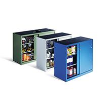 Schiebetürenschrank, 102,5 x 120 x 50 cm (HxBxT), Farbwahl