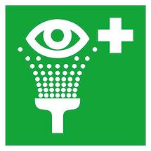 Schild Augenspüleinrichtung