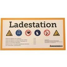 Schild Ladestation