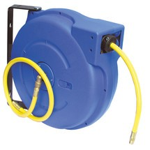 Schlauchaufroller für Druckluft und Wasser