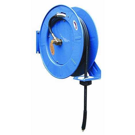 Schlauchaufroller für Luft und Wasser bis 20bar. Länge bis 20m