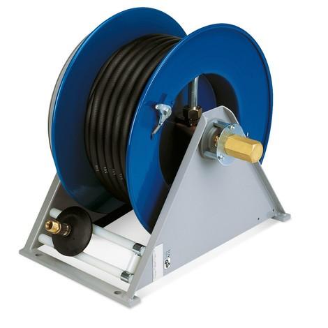 Schlauchaufroller für Wasser, Druckluft, Öl
