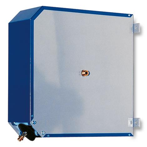 Schlauchaufroller inkl. Druckluftschlauch bis 20 m. Geschlossen
