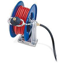 Schlauchaufroller inkl. Druckluftschlauch bis 20 m. Offen